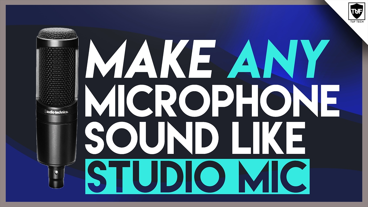 how to get your microphone to work