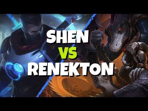 Shen vs Renekton Season 8! League of Legends