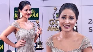 Hina Khan Shows So Much ATTITUDE After Winning Most Beautiful Women At Zee Gold Awards 2018