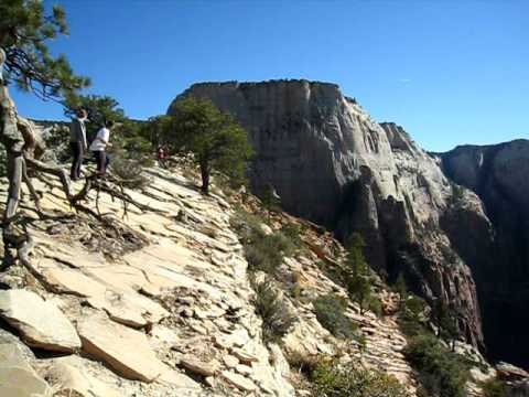Condor Attack at Angels Landing