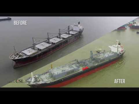 CSL Conversion Program - From Bulker to Cement Carrier