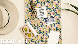 How to Make a Fabric-Covered Bulletin Board