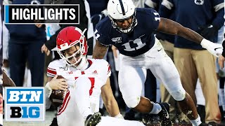 Highlights: Brown Runs Past Scarlet Knights | Rutgers at Penn State | Nov. 30, 2019
