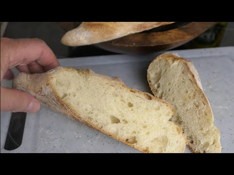 Baguette super schnell gemacht.