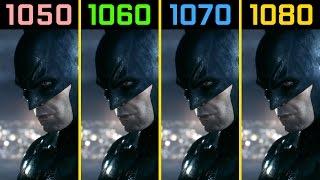 Batman: Arkham Knight GTX 1050 Ti vs. GTX 1060 vs. GTX 1070 vs. GTX 1080