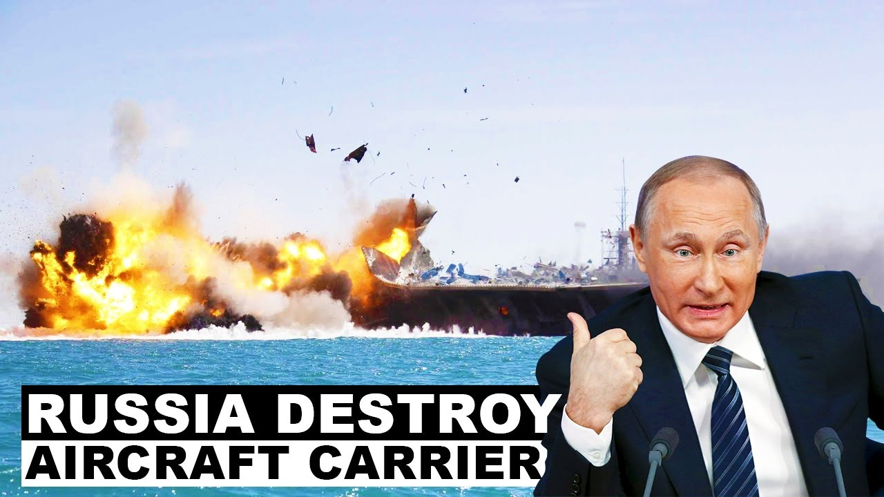 Revealed: Russia's Plan To Destroy U.S. Navy Aircraft Carriers