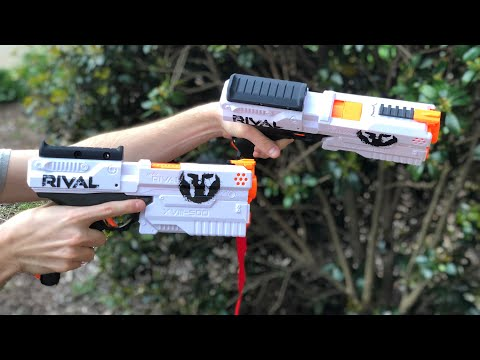 How To DUAL WIELD With Nerf Rival Kronos