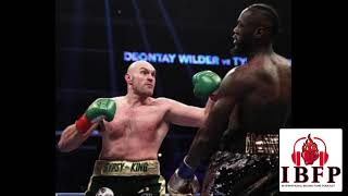 Tyson Fury ROBBED!!!! Deontay Wilder DESTROYED!!!