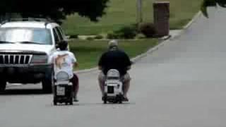 Motorized Cooler Race After Tailgating, Ellen, Miller
