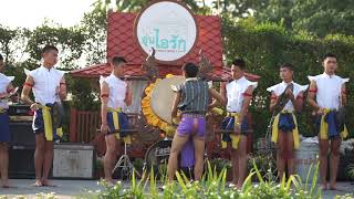 Traditional music and dancing from Thailand.