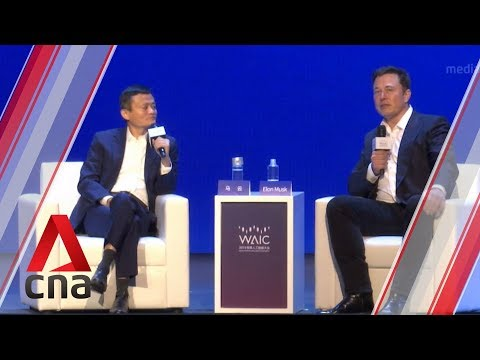 Jack Ma, Elon Musk debate AI at China summit