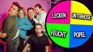 GLÜCKSRAD CHALLENGE !! (1 Spin = 1 Aufgabe) mit Carina Spoon, Kobe & Mone   Max und Chris