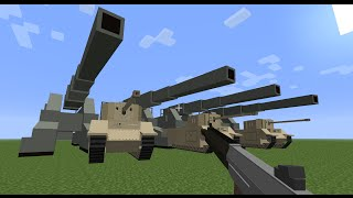 Minecraft Flans Mod: Monolith Pack version 2 ausf. E