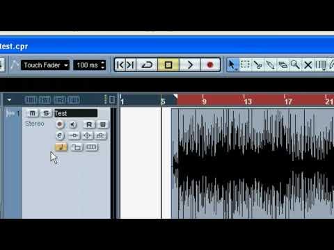 Cubase 3, 4, & 5 - Mixdown Errors