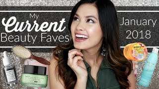 FIRST BEAUTY FAVORITES OF 2018! | Current Fave Skin Care, Hair Care & more!