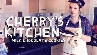 MILK CHOCOLATE COOKIES  Cherrys Kitchen