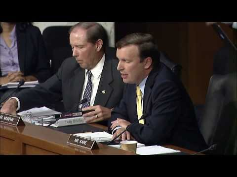 U.S. Sen. Chris Murphy, a Democrat from Connecticut, explains his vote against the use of military force in Syria.