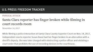 Santa Clara County Government Whistleblower Retaliation - Police Excessive Force - False Arrest