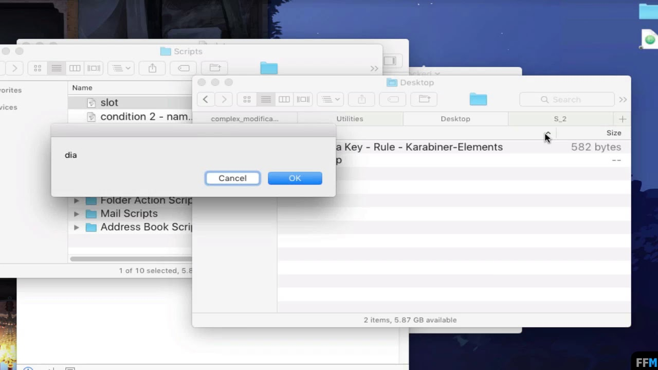 AppleScript - Create Condition from Active Window Free (Mac)