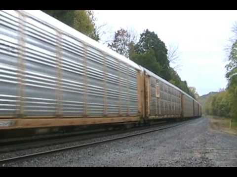 Special Kansas City Southern train going through Stanton Station NJ