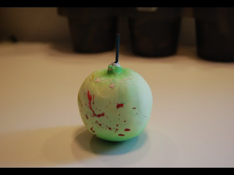 How To Make An Exploding Apple Bomb!