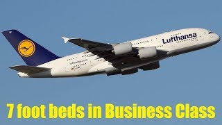 Lufthansa to Introduce 7 Foot Beds in Business Class in upcoming Boeing B777-9s - Nov 2017