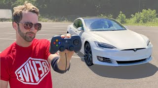 Every Video Game On My Tesla.