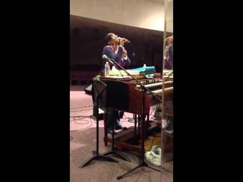 Tish Williams sings Be GratefulHawkins