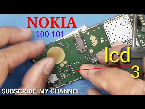 Nokia 100 101 display LCD light solution 1000% tested