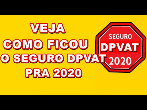 """Resultado de imagem para seguro dpvat 2020"""""""
