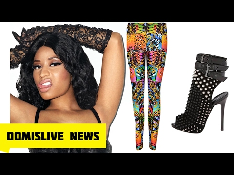 Nicki Minaj Cries RACISM AND DISRESPECT From Designer Giuseppe Zanotti