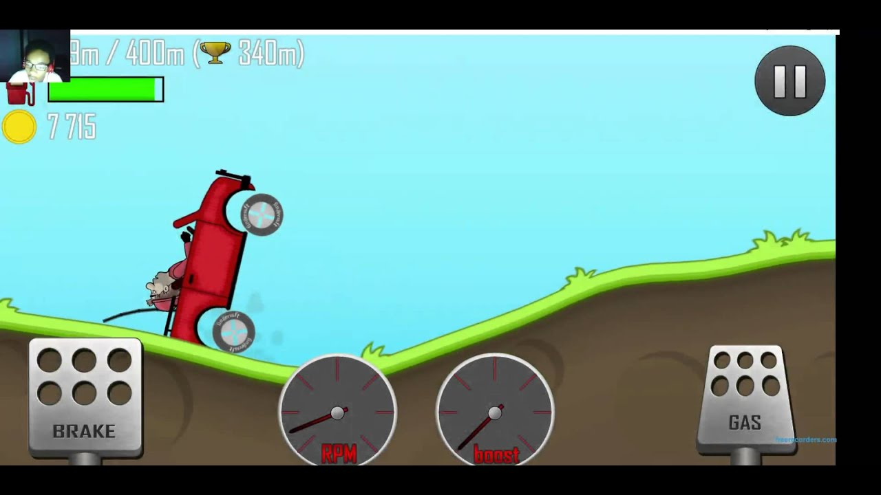 how to make a hill climb racing game on unity