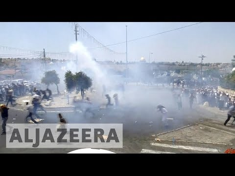 Protests rage over al-Aqsa