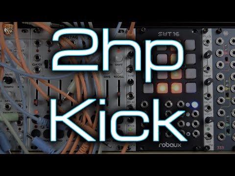 2hp - Kick (808, soft, hard, distorted, boooooom)