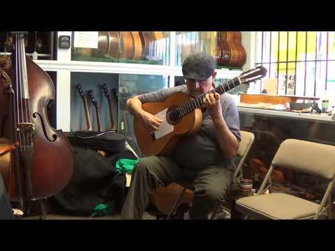 1961 Arcangel Fernandez Flamenco Guitar Ricardo Bustillos
