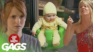Funny Baby Pranks - Best Of Just For Laughs Gags