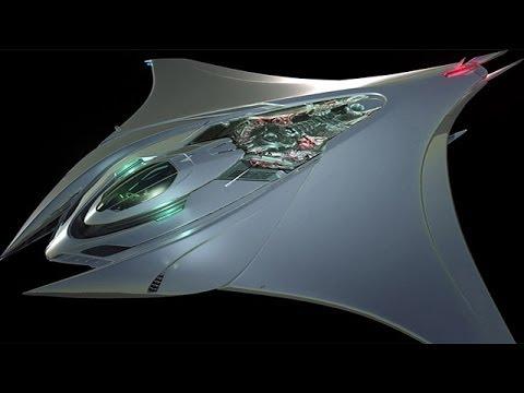 Mantaray Spaceship Concept By Rene Garcia Youtube