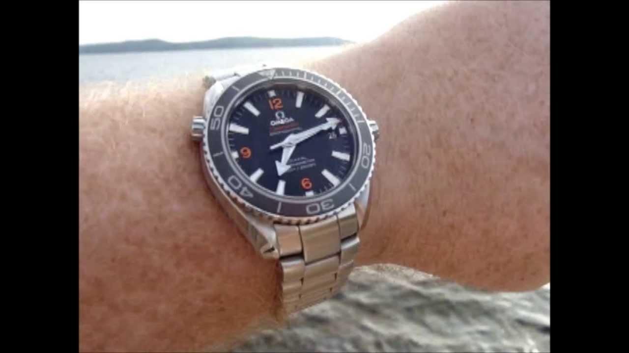 Planet Ocean 8500 42mm Wrist Shots