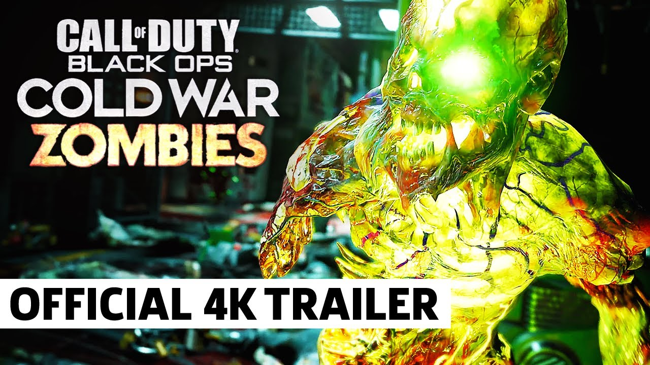 Call of Duty: Black Ops Cold War - Official PS5 Zombies Gameplay Trailer - GameSpot