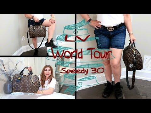 c8cdbf3656 Louis Vuitton World Tour Speedy | Getting Ready for a Trip | OxanaLV ...