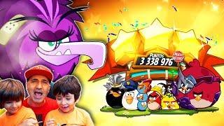 ANGRY BIRDS 2  Dani y Evan a por el JEFE ZETA!! Juegos para niños