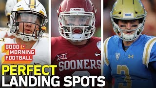 Top QB Prospects Perfect Team Fits | NFL Network