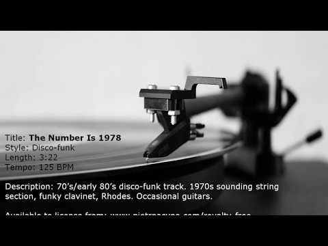 [DISCO-FUNK] The Number Is 1978 (Royalty free music)