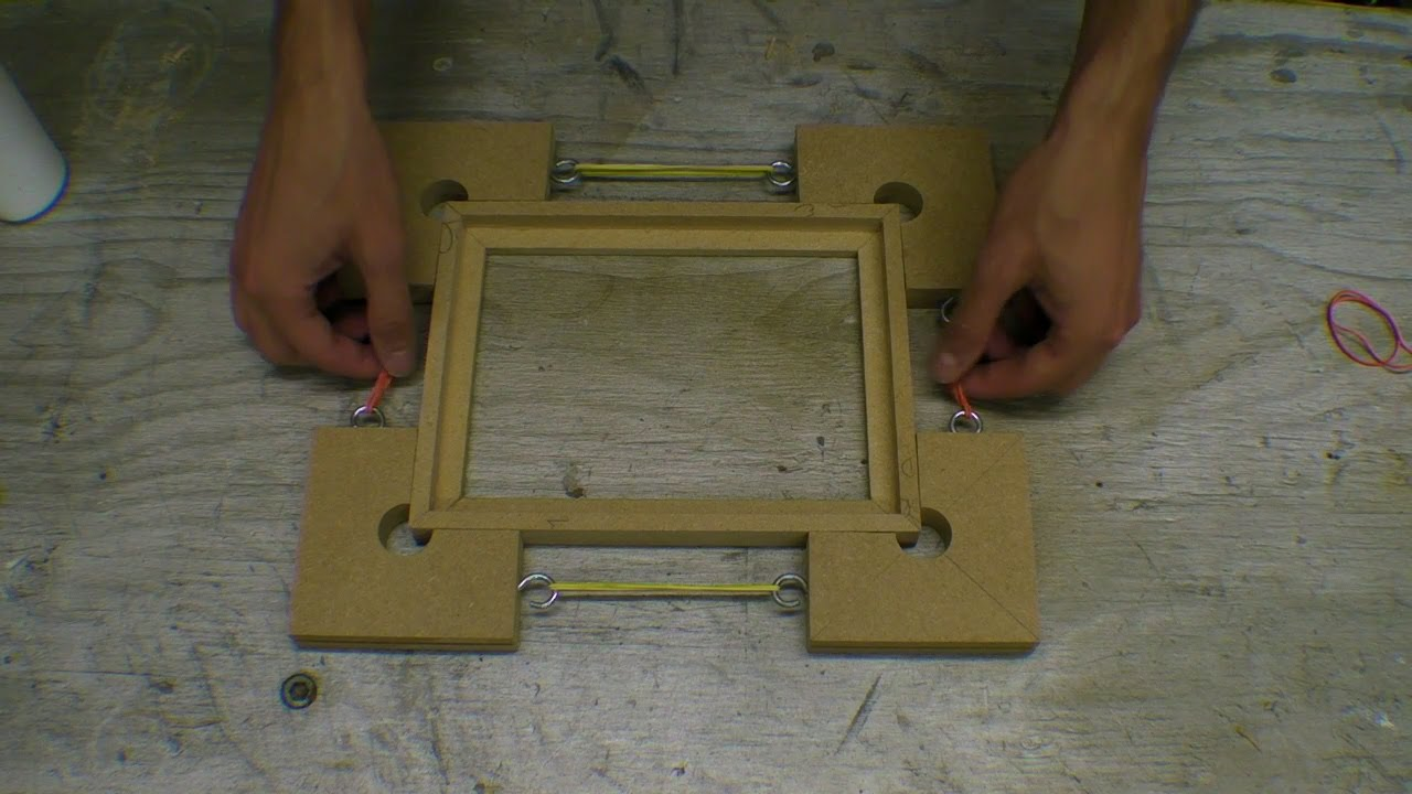Handmade MDF Picture Frame - Moulding / Mitring / Glass ...
