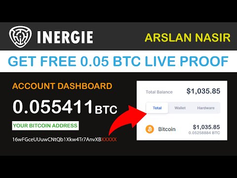 Inergie.io – Free Bitcoin Miner | Mine Free Bitcoin Get (0.05 BTC ) Live Payment Proof + Zero Invest