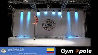 WPSC19 - Pole Sports - Junior Girls - Lucia Sanchez - Colombia