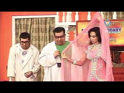 New Pakistani Stage Drama - Zafri Khan, Deedar And Nasir Chinyoti - Full Comedy Clip
