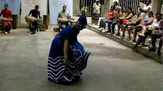 Aya esta bailando Yemaya en Sabado de la rumba (palenque)