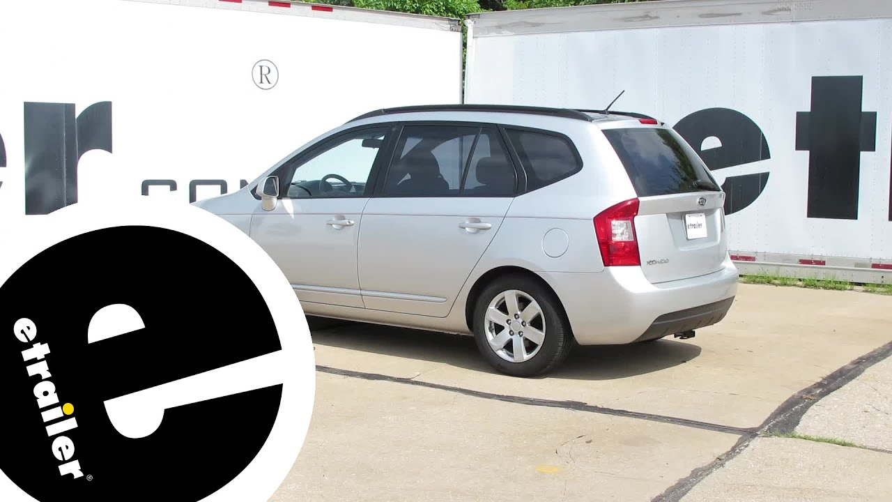 Install Trailer Hitch 2008 Kia Rondo 24797 Etrailer Com Youtube