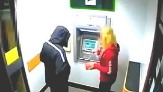 Video Pemaksaan Di Dalam ATM